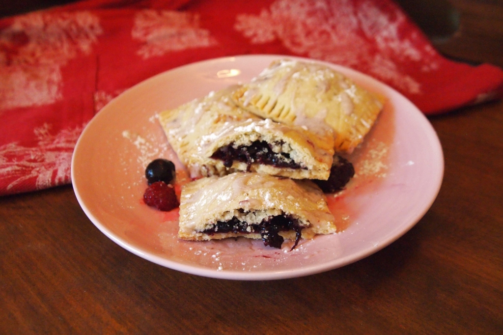 Berry Stuffed Pastries