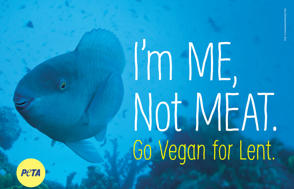 I'm Me Not Meat PETA Vegan Ad Series