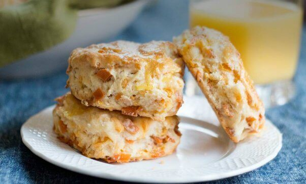 Tofurkey vegan recipe for ham and cheese biscuits